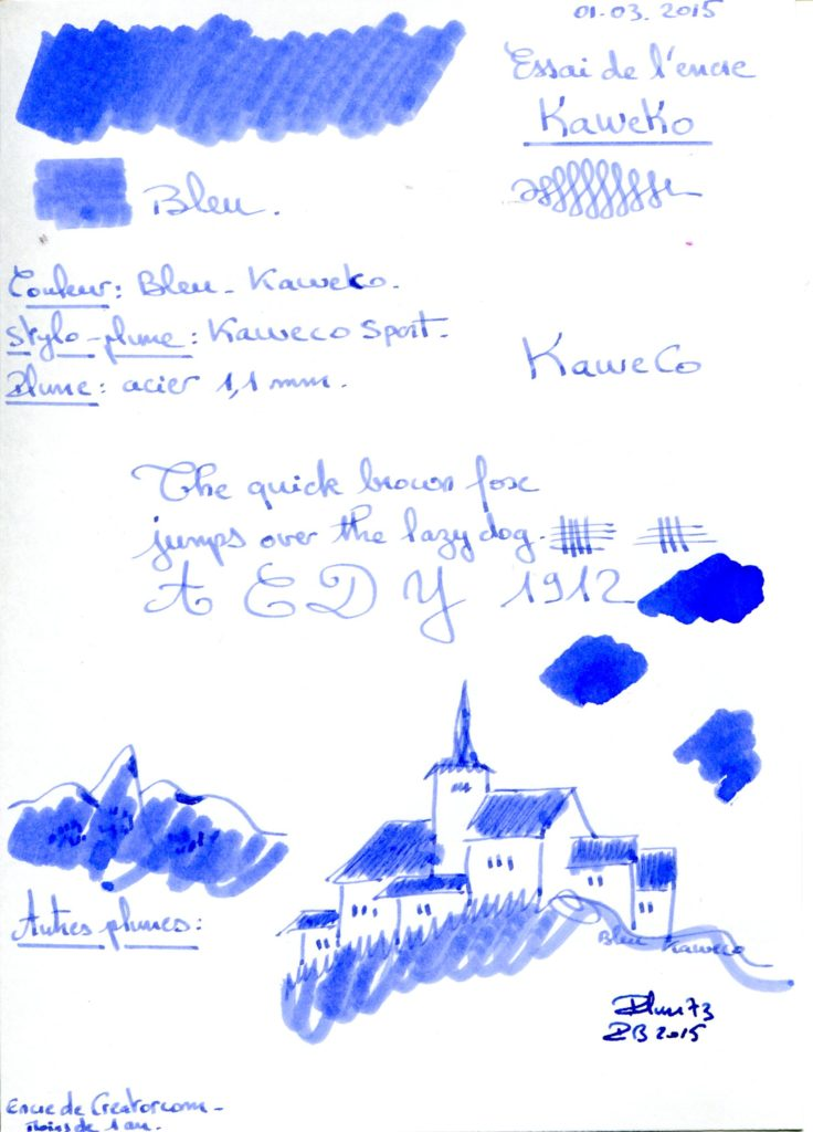 Blue Ink Kaweko