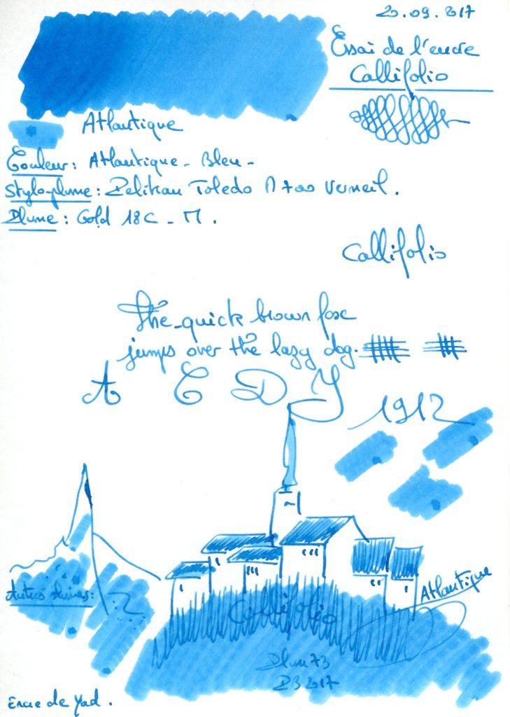 Atlantique Ink Callifolio