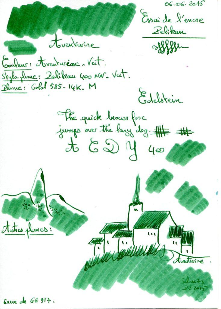 Aventurine Ink Edelstein
