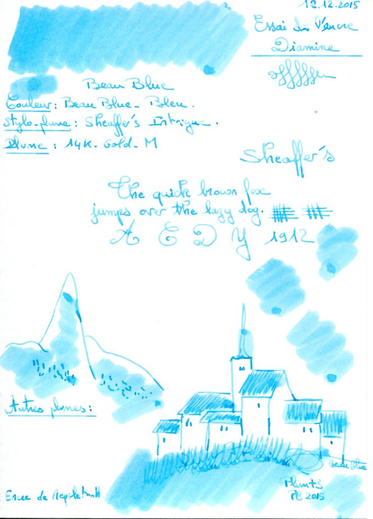 Beau Blue Ink Diamine