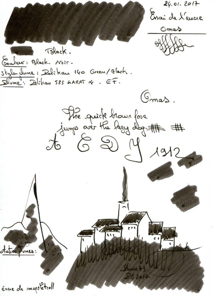 Black Ink Omas