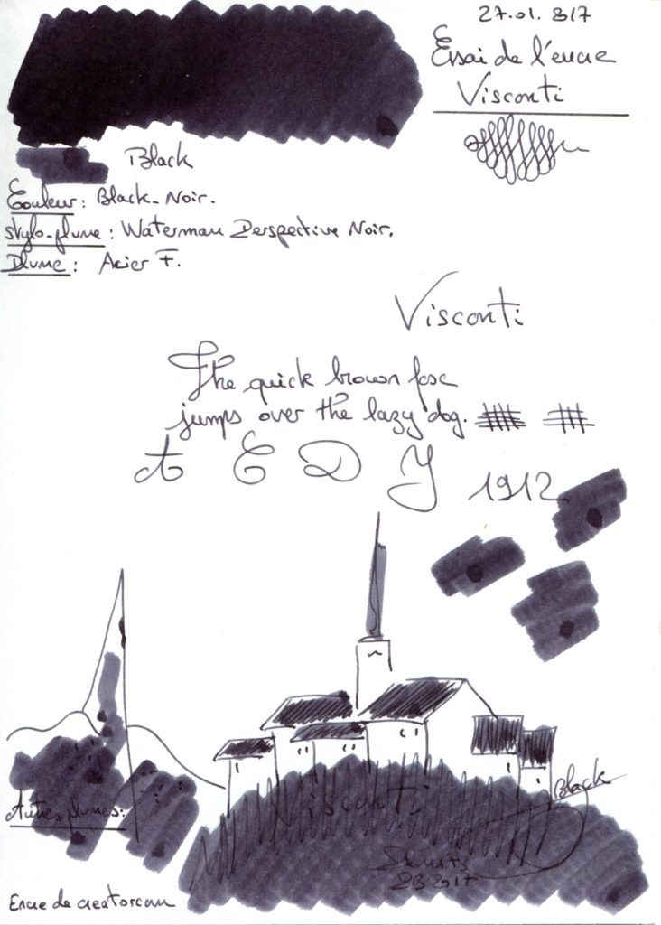 Black Visconti Ink