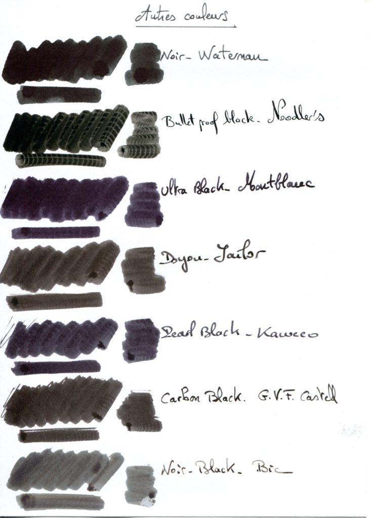 Black ink 4