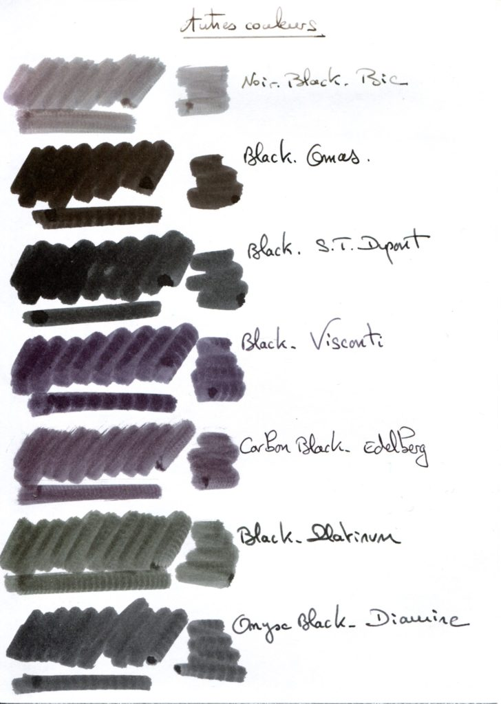 Black ink 5
