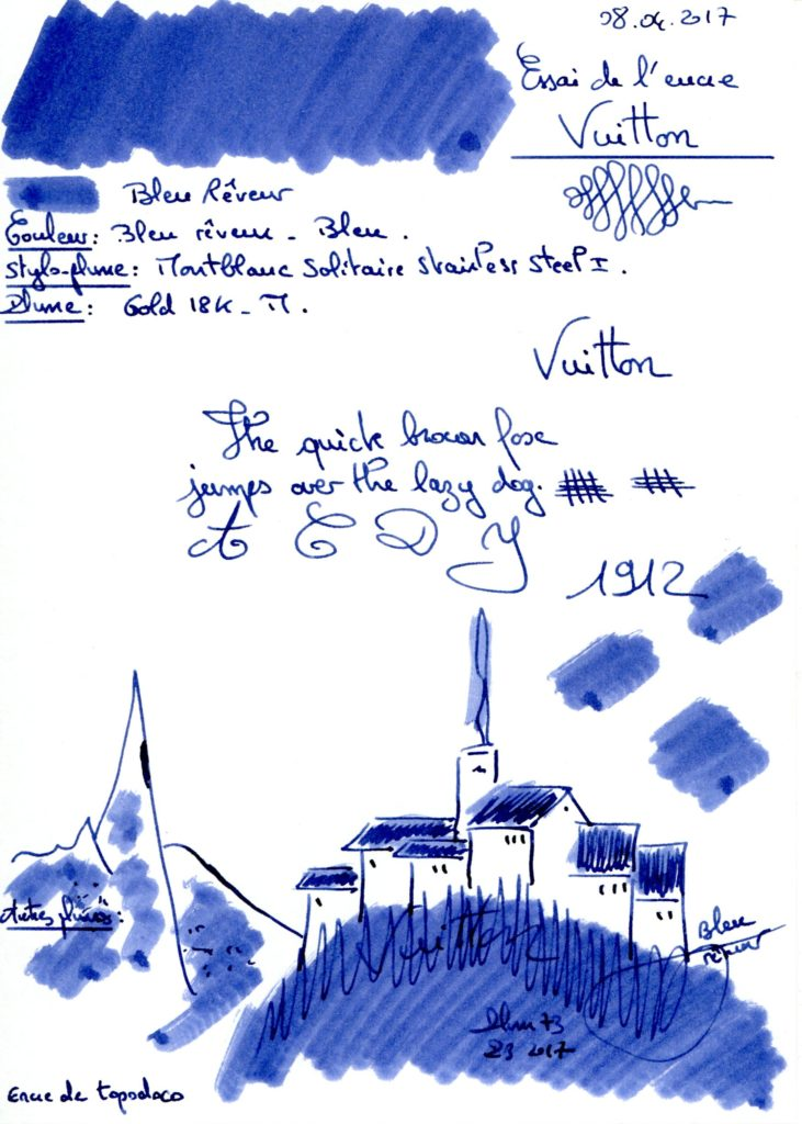 Bleu reveur Ink Louis Vuitton