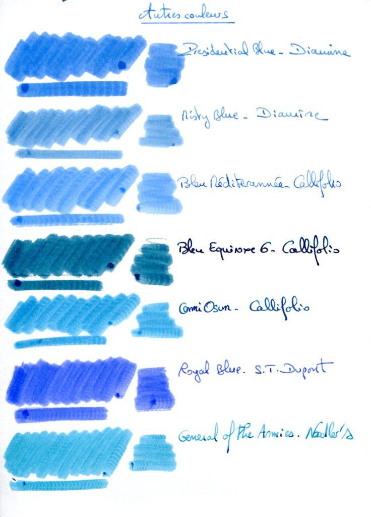 Blue Ink 12