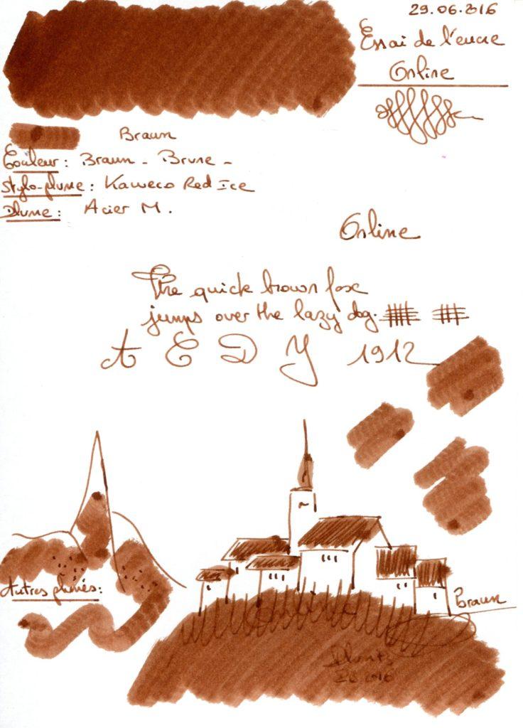 Braun Ink Online