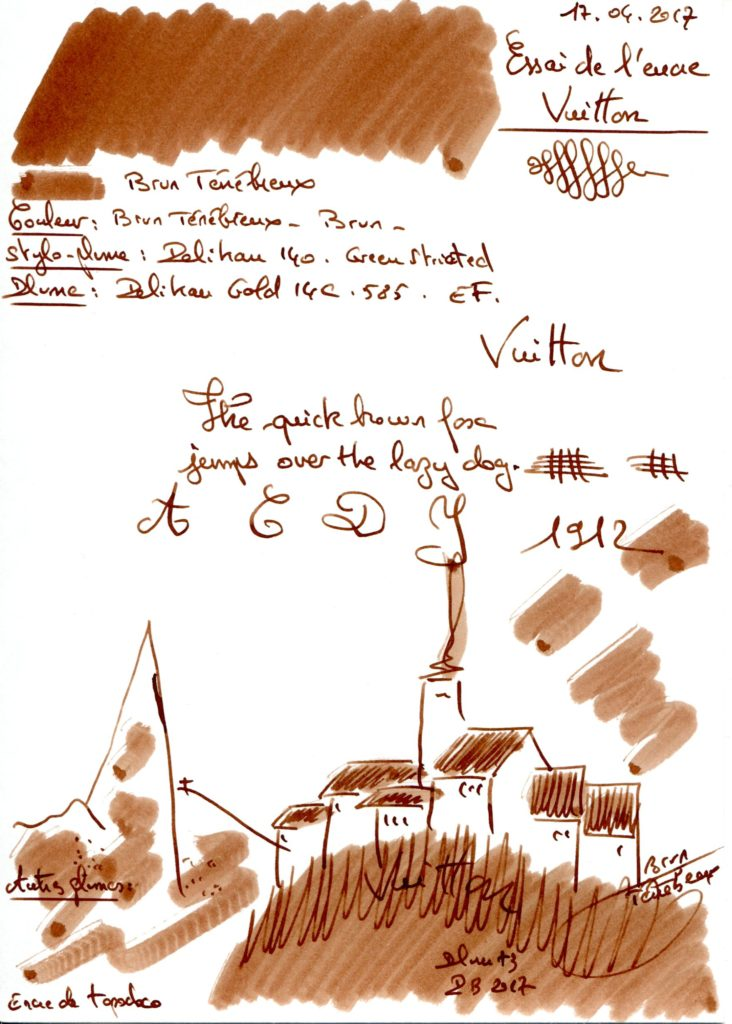 Brun Tenebreux Ink Louis Vuitton
