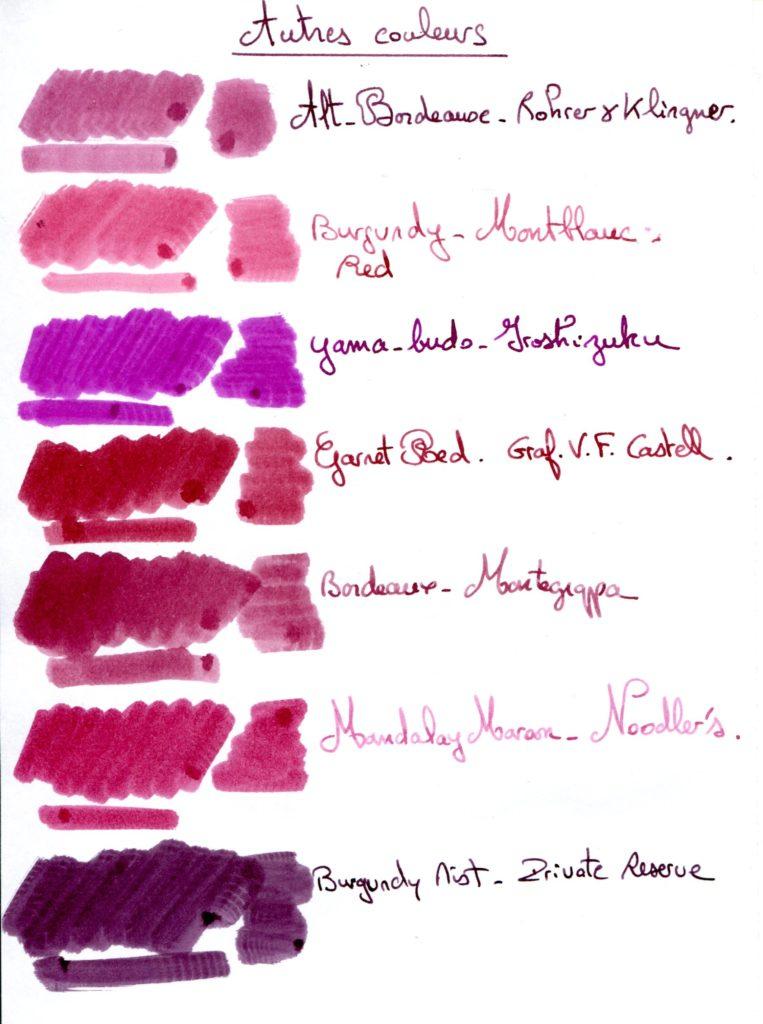 Burgundy Ink 1