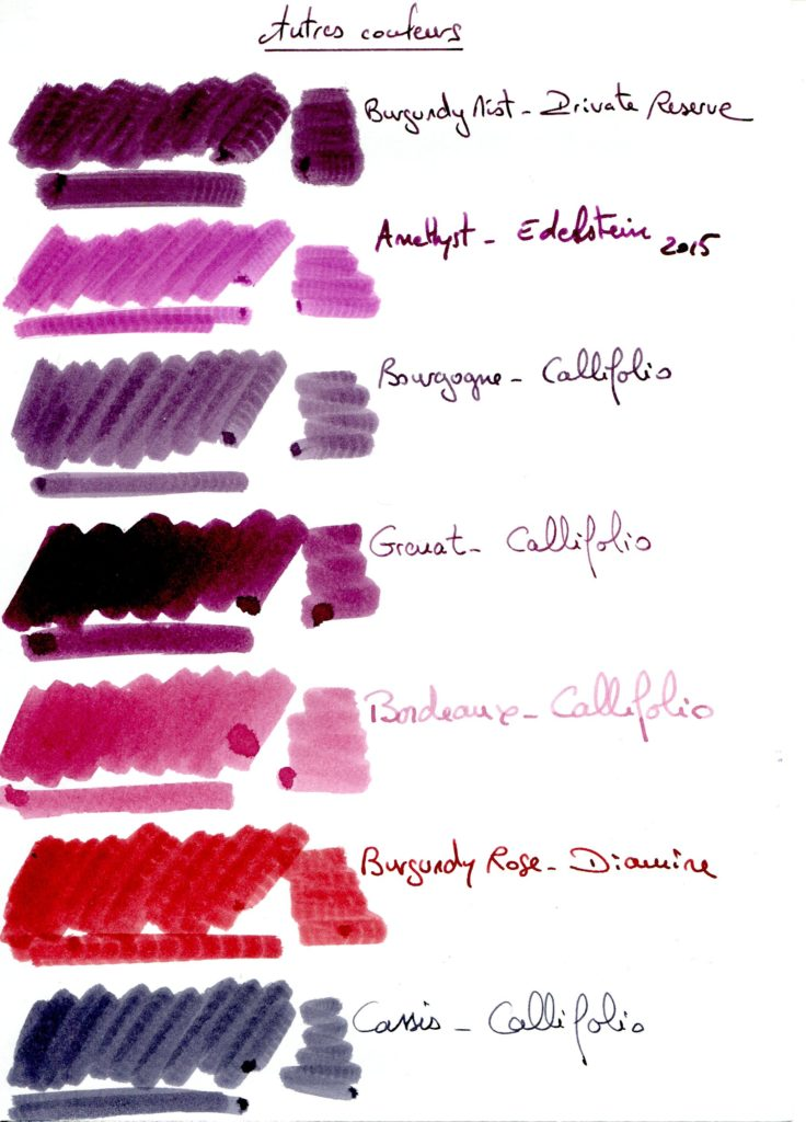 Burgundy Ink 2