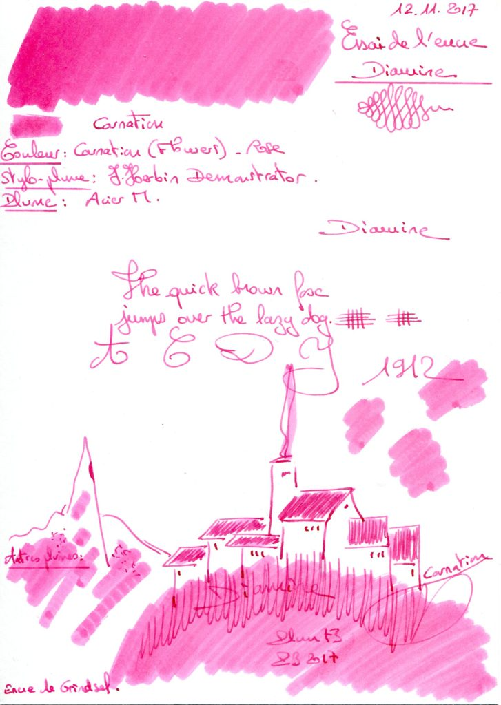 Carnation Ink Diamine