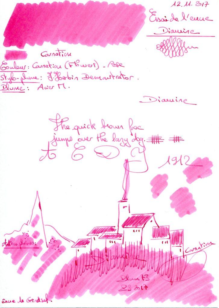 Carnation Ink Diamine