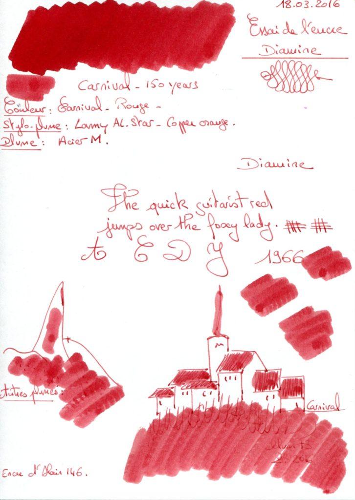 Carnival Ink Diamine 150