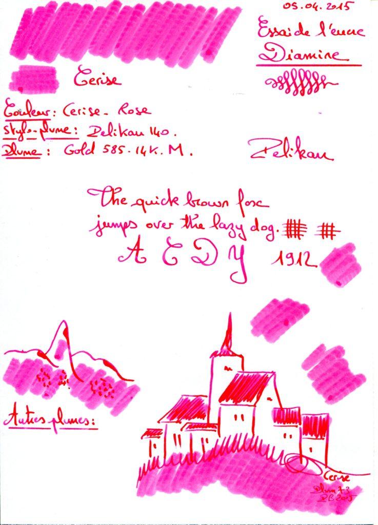 Cerise Ink Diamine