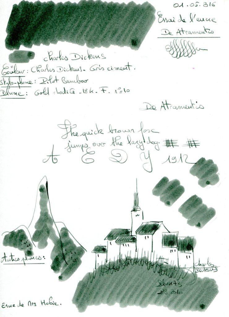Charles Dickens Ink De Atramentis