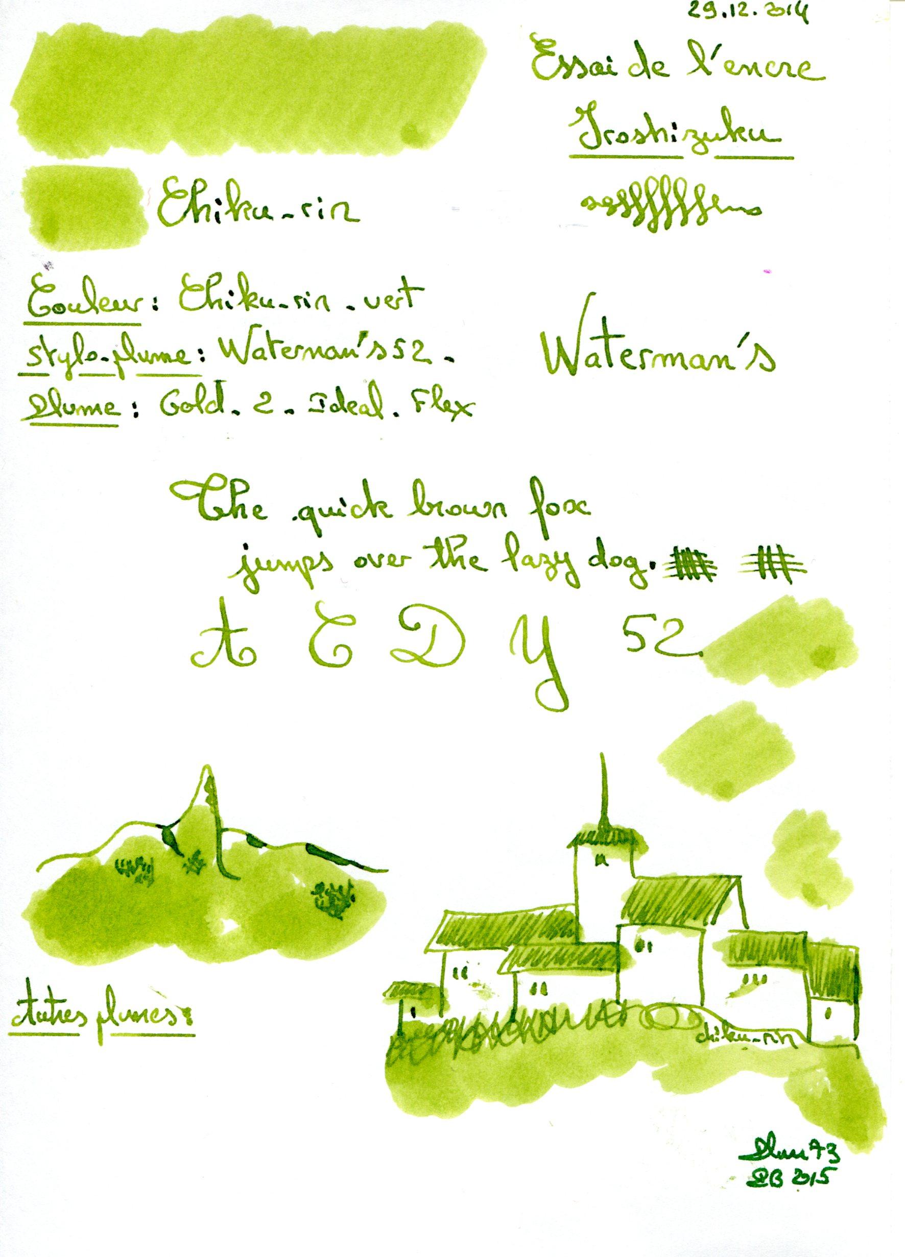 Stylos plume - Page 37 Chiku-rin-Ink-Iroshizuku