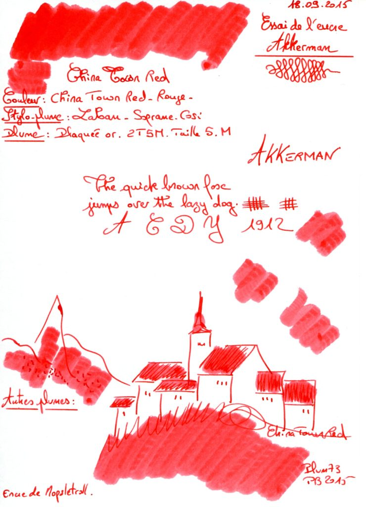 China Town Red Ink Akkerman