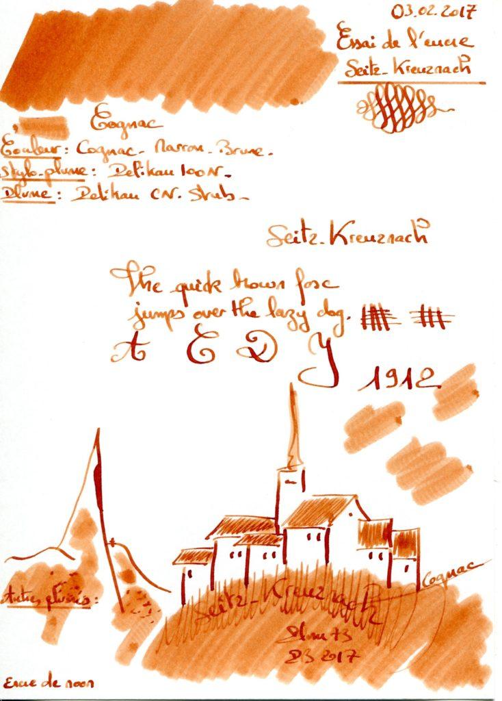 Cognac Ink Seitz Kreuznach