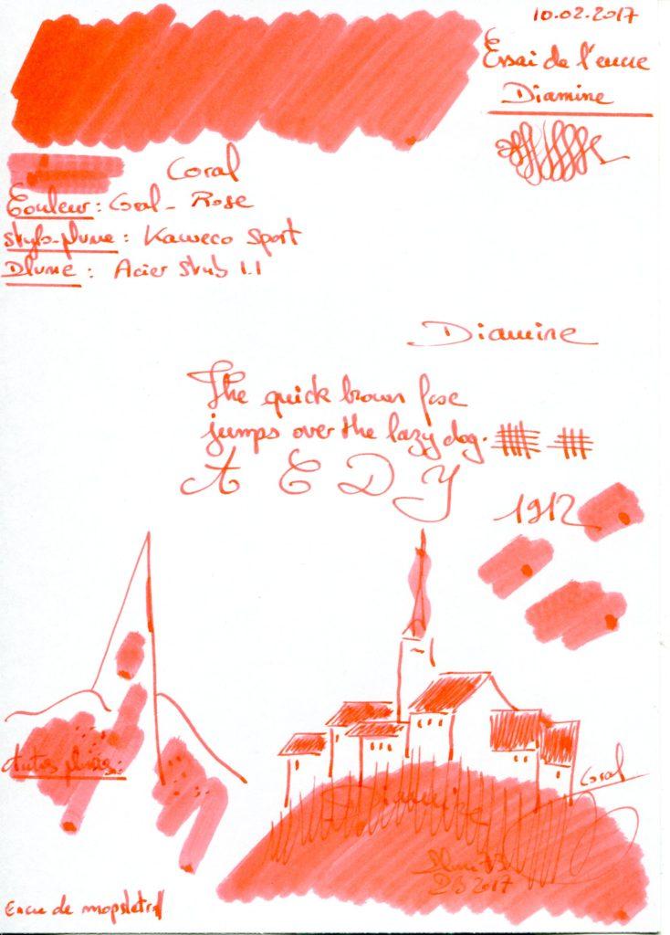 Coral Ink Diamine