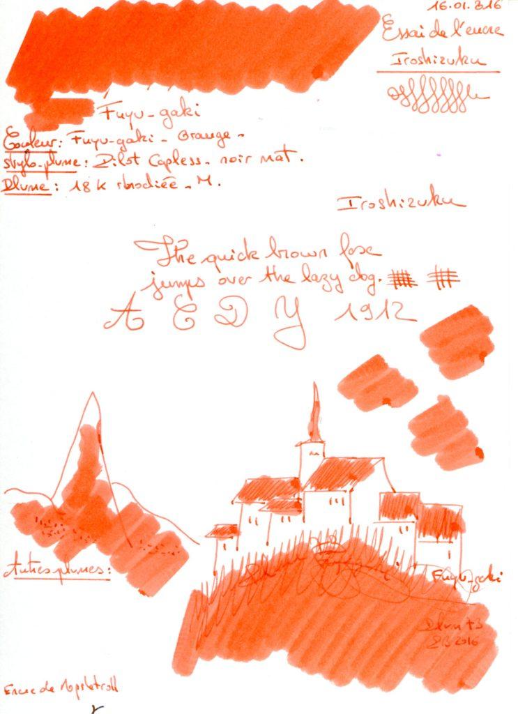 Fuyu-gaki Ink Iroshizuku