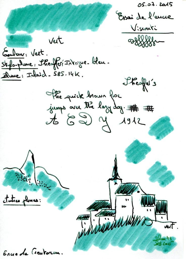 Green Ink Visconti