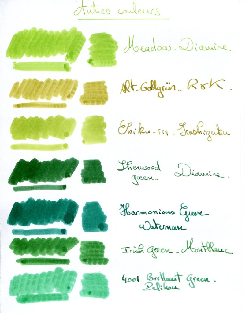 Green ink 1