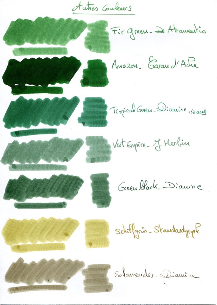 Green ink 4