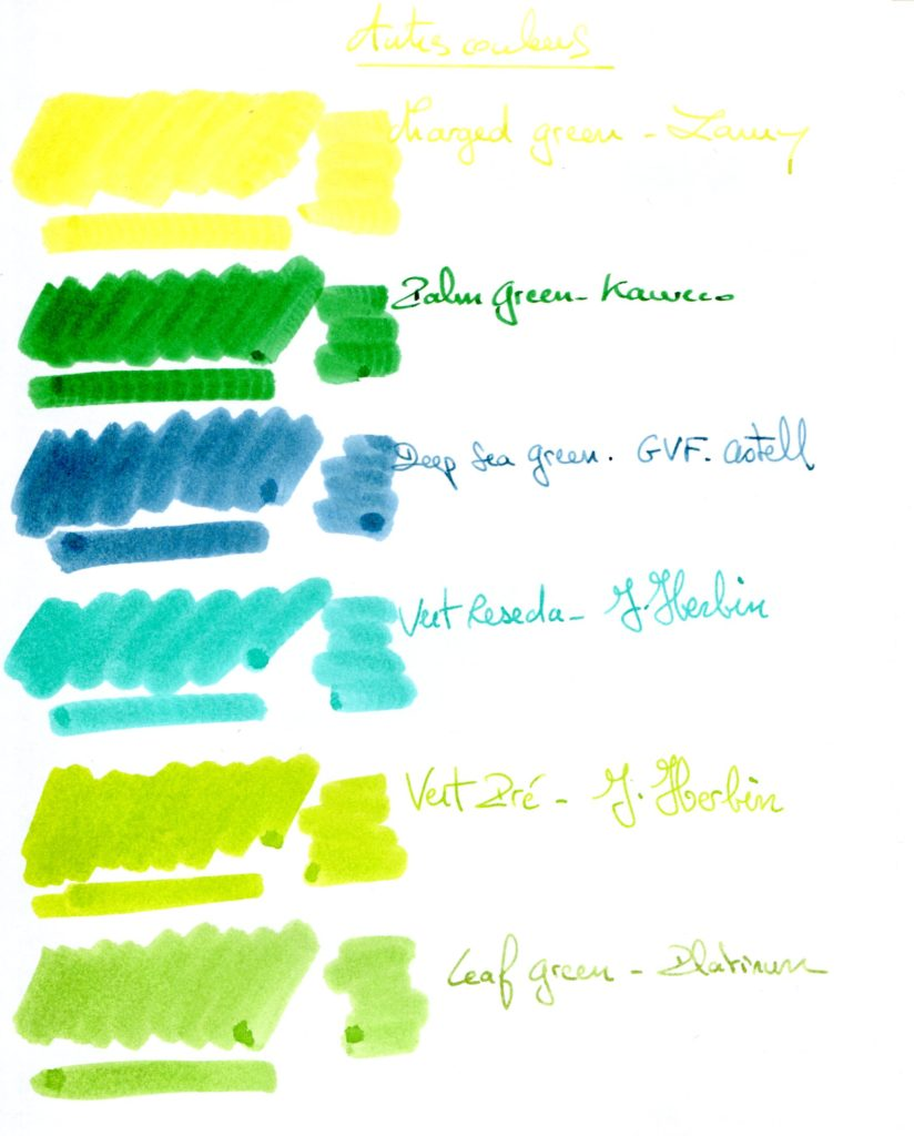 Green ink 6