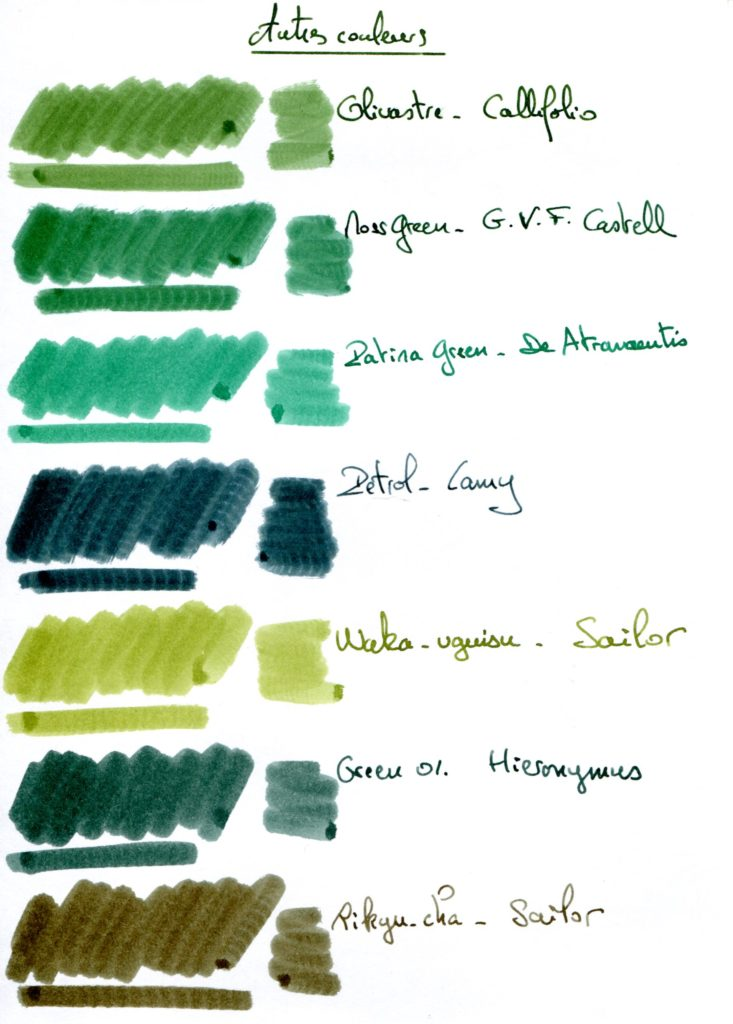 Green ink 7