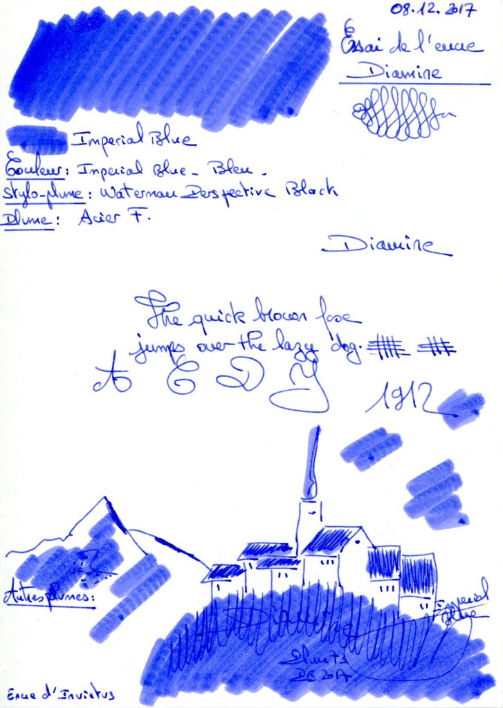 Imperial Blue Ink Diamine