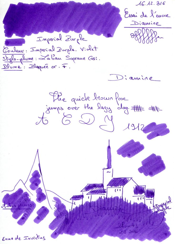 Imperial Purple Ink Diamine