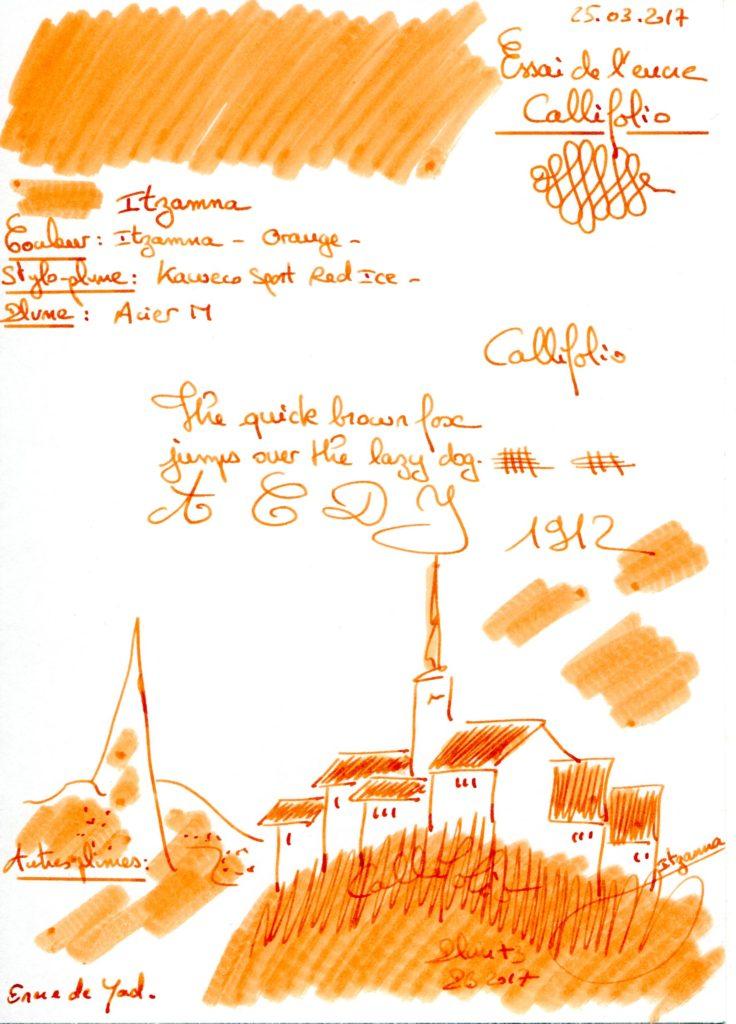 Itzamna Ink Callifolio