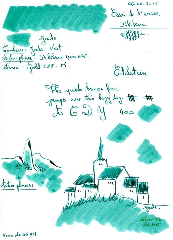 Jade Ink Edelestein