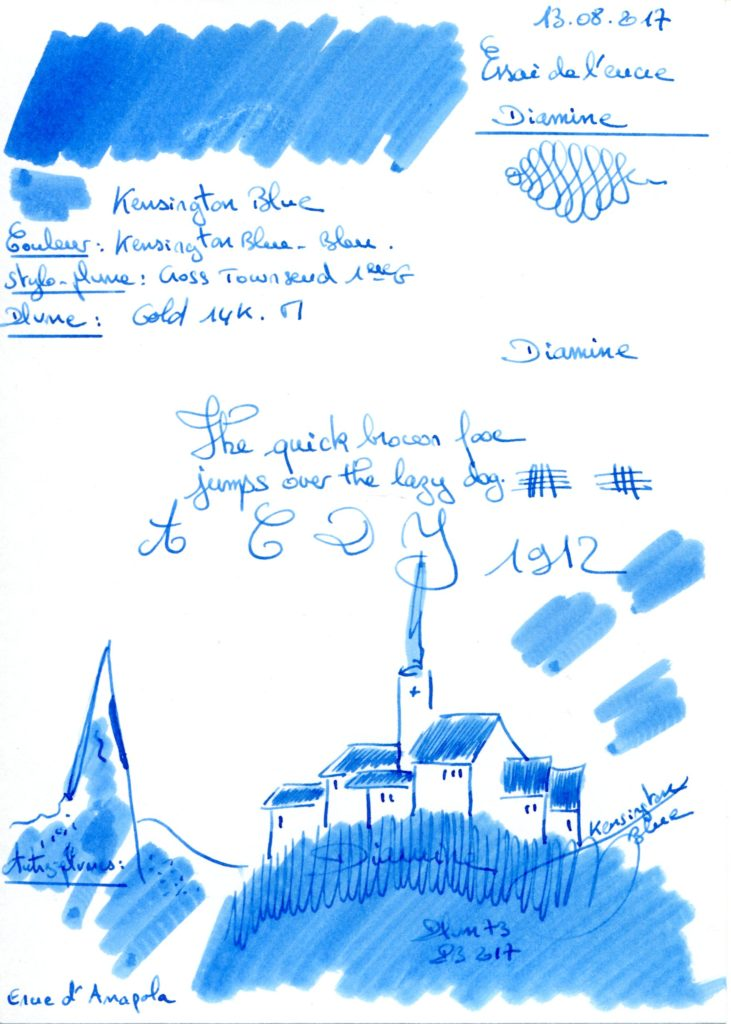 Kensington Blue Ink Diamine