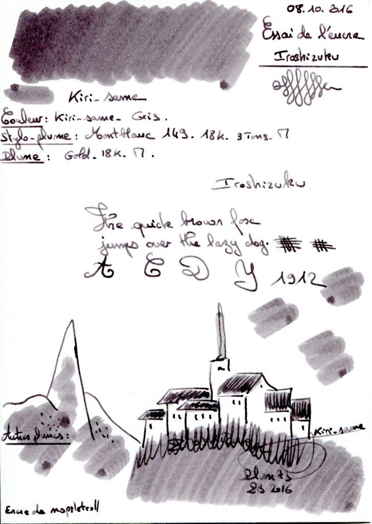 Kiri-same Ink Iroshizuku