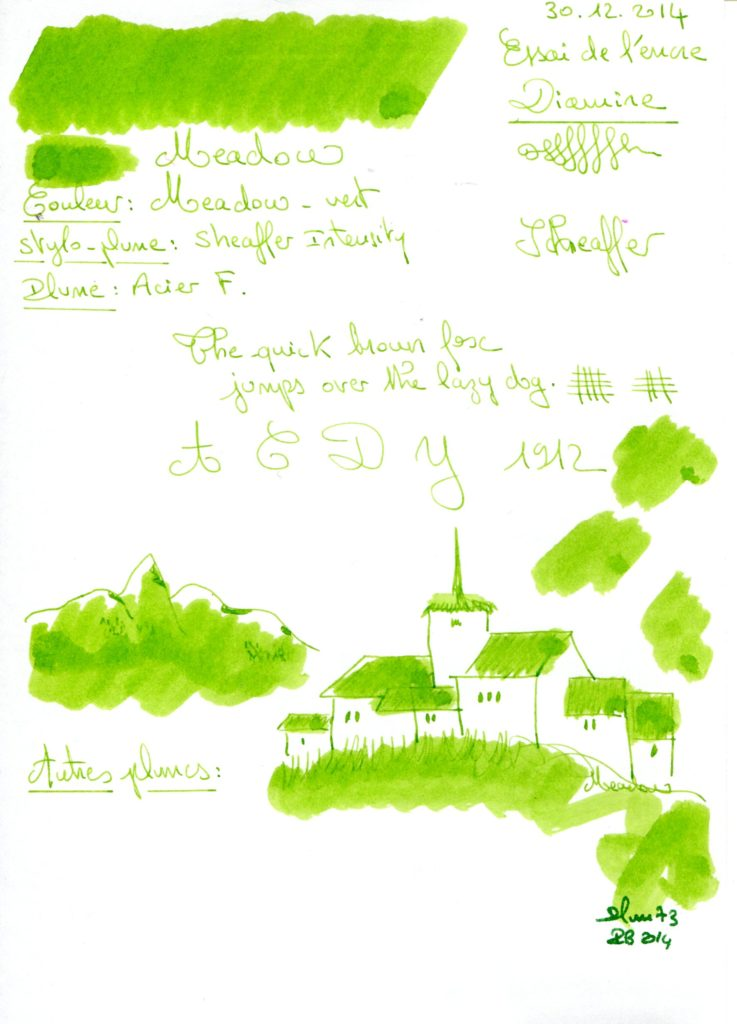 Meadow Ink Diamine