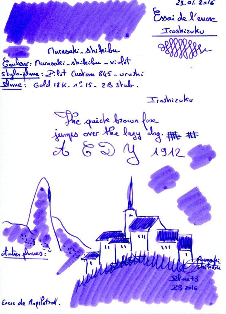 Murasaki shikibu Ink Iroshizuku