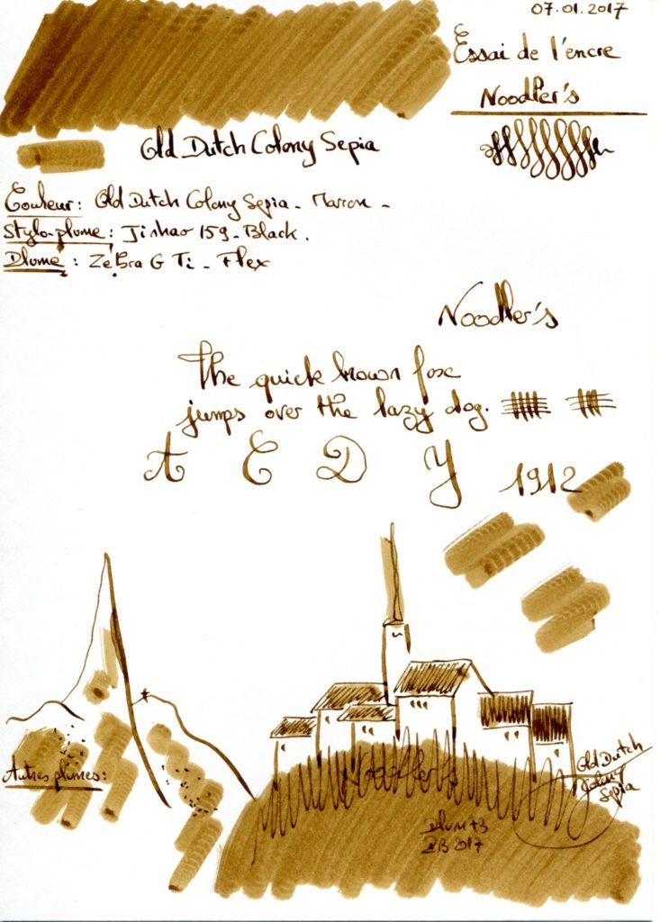 Old dutch Ink Noodler's