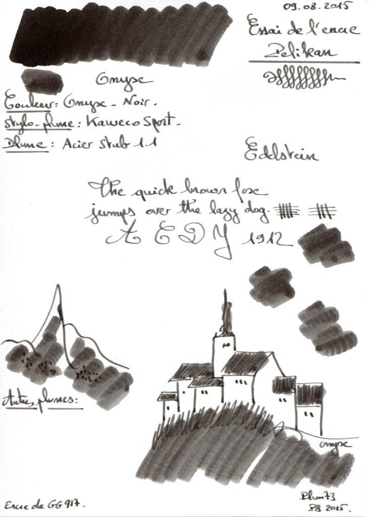 Onyx Ink Edelstein