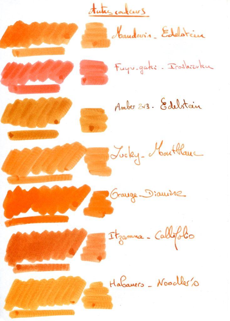 Orange ink 2