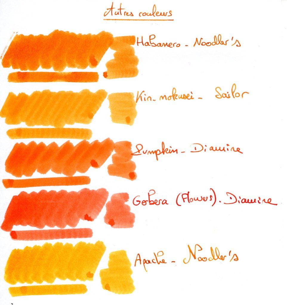 Orange ink 3