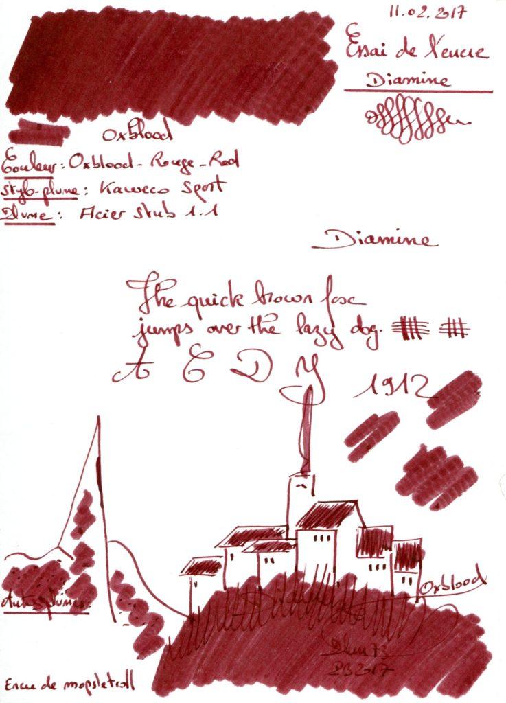 Oxblood Ink Diamine