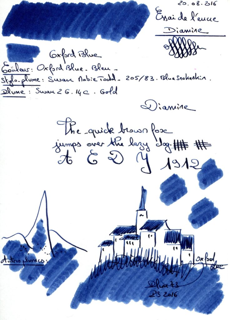 Oxford blue Onk Diamine