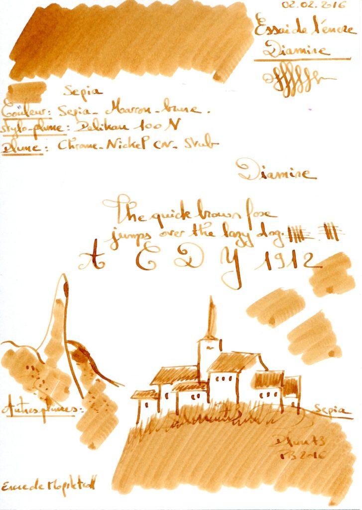 Sepia Ink Diamine