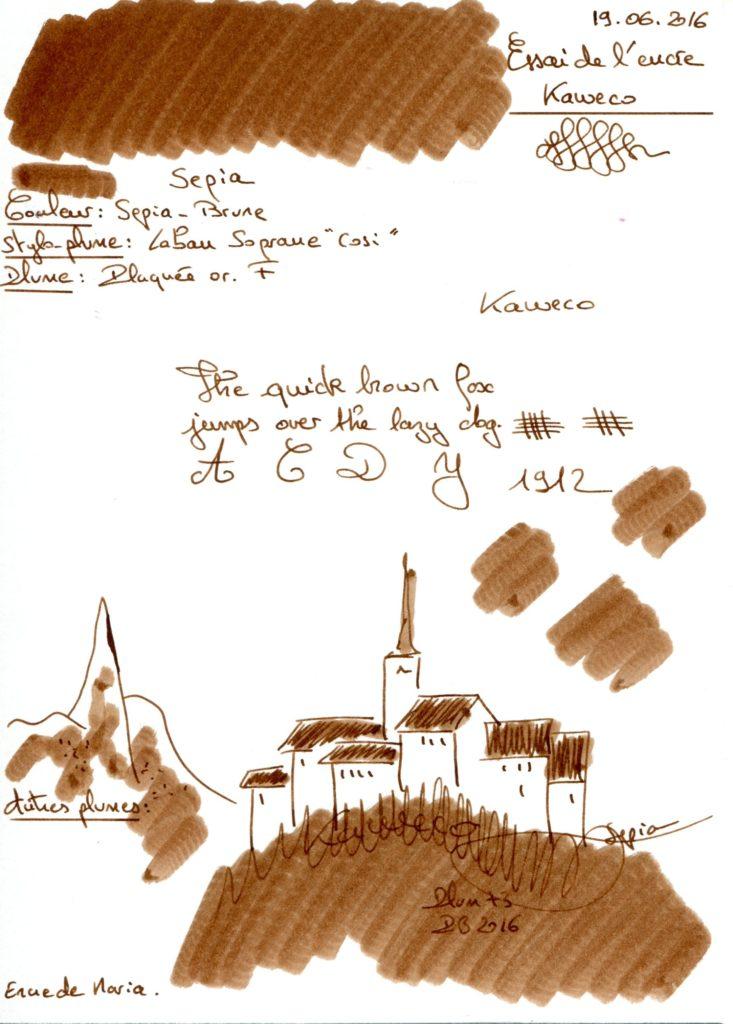 Sepia Ink Kaweco