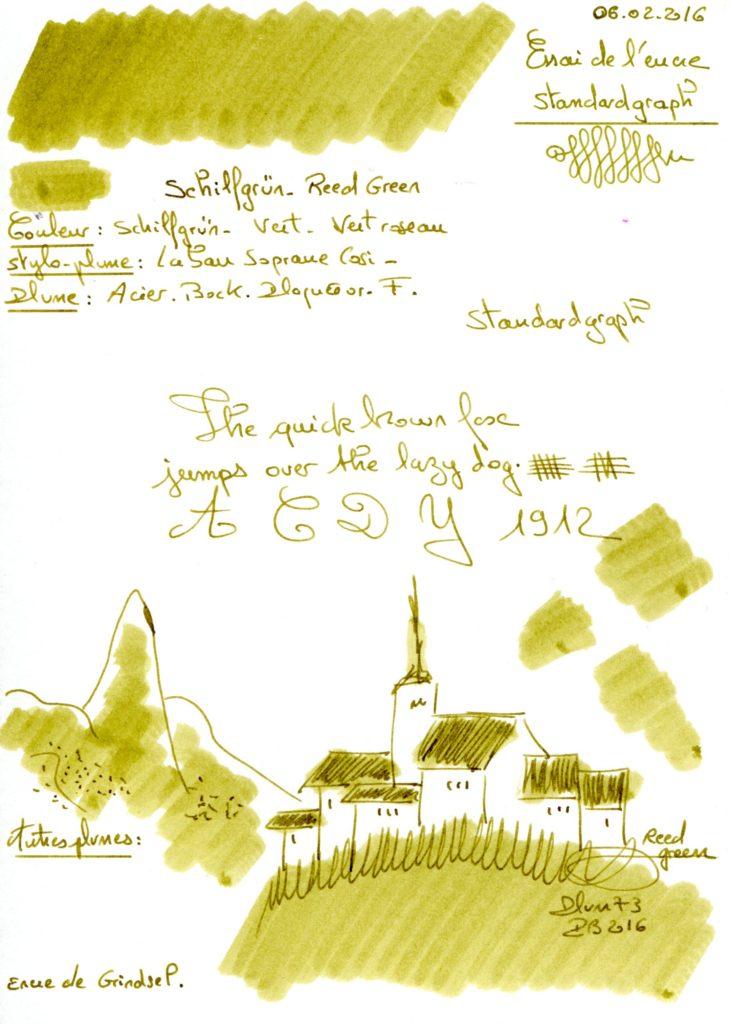 Shilfgrun Ink Standargraph