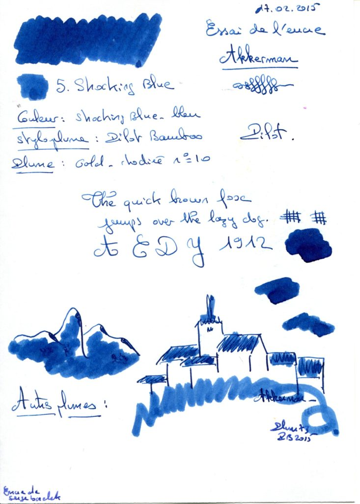Shocking blue 05 Ink Akkerman