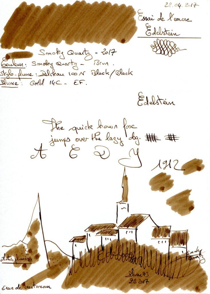 Somky Quartz Ink Edelstein