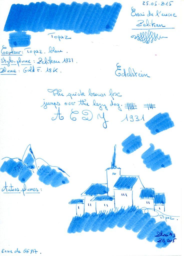 Topaz Ink Edelstein
