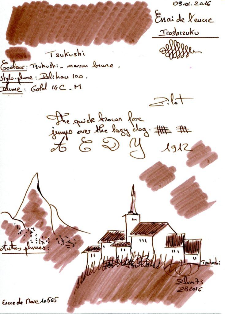 Tsukushi Ink Iroshizuku